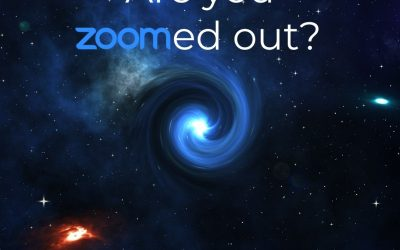 An inspiring added benefit of Zoom?
